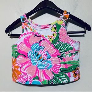 Lilly Pulitzer Girl's Sleeveless Top Size 7/8